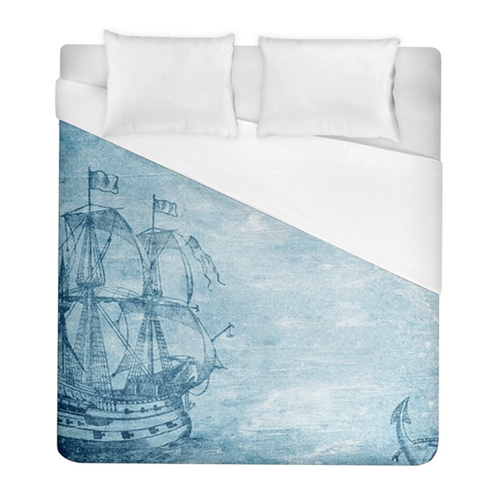 Sail Away - Vintage - Duvet Cover (Full/ Double Size)