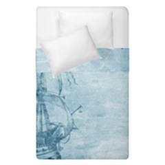 Sail Away   Vintage   Duvet Cover Double Side (single Size)
