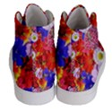 Multicolored Daisies Women s Hi-Top Skate Sneakers View4
