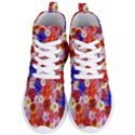 Multicolored Daisies Women s Lightweight High Top Sneakers View1