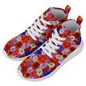 Multicolored Daisies Women s Lightweight High Top Sneakers View2