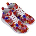 Multicolored Daisies Women s Lightweight High Top Sneakers View3