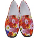 Multicolored Daisies Women s Classic Loafer Heels View1