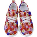 Multicolored Daisies Women s Velcro Strap Shoes View1
