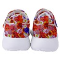 Multicolored Daisies Women s Velcro Strap Shoes View4