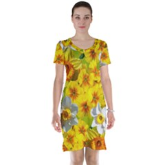Daffodil Surprise Short Sleeve Nightdress