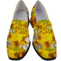 Daffodil Surprise Women s Chunky Heel Loafers View1