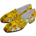 Daffodil Surprise Women s Chunky Heel Loafers View2