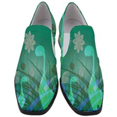 Dinosaur Family   Green   Slip On Heel Loafers by WensdaiAddamns