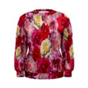 Bed Of Roses Women s Sweatshirt View1