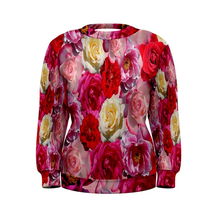 Bed Of Roses Women s Sweatshirt