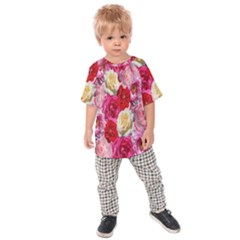 Bed Of Roses Kids  Raglan Tee