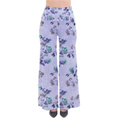 Vintage Roses Purple So Vintage Palazzo Pants