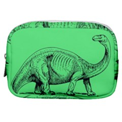 Dinoland Stamp   Make Up Pouch (small) by WensdaiAddamns