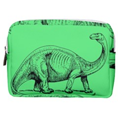 Dinoland Stamp   Make Up Pouch (medium) by WensdaiAddamns