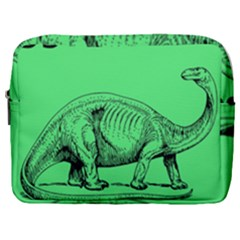Dinoland Stamp   Make Up Pouch (large) by WensdaiAddamns