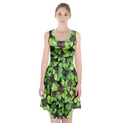 Lucky   Clover Design   Racerback Midi Dress