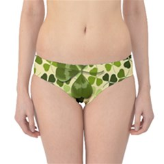 Drawn To Clovers Hipster Bikini Bottoms