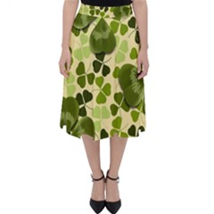 Drawn To Clovers Classic Midi Skirt