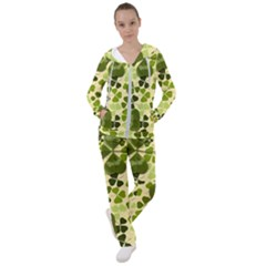 Drawn To Clovers Women s Tracksuit