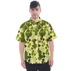 Drawn To Clovers Men s Short Sleeve Shirt