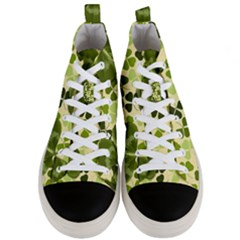 Drawn To Clovers Men s Mid Top Canvas Sneakers