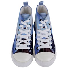Planet Discover Fantasy World Women s Mid Top Canvas Sneakers