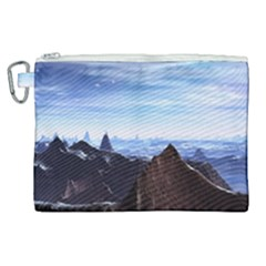 Planet Discover Fantasy World Canvas Cosmetic Bag (xl)