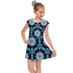 Backgrounds Pattern Wallpaper Kids  Cap Sleeve Dress