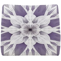 Fractal Floral Pattern Decorative Seat Cushion