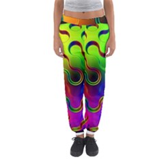 Ball Sphere Digital Art Fractals Women s Jogger Sweatpants