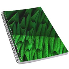 Fractal Rendering Background Green 5 5  X 8 5  Notebook by Pakrebo