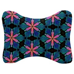 Ornament Digital Color Colorful Velour Seat Head Rest Cushion