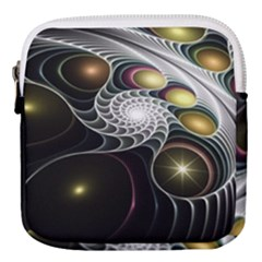 Fractal Bulbs Fantasy Curve Mini Square Pouch