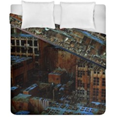 Building Ruins Old Industry Duvet Cover Double Side (california King Size)