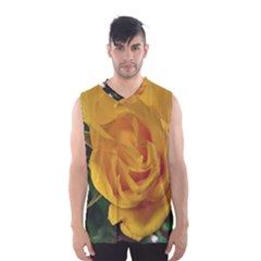 Yellow Rose Men s Basketball Tank Top