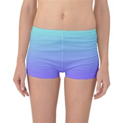 Turquoise Purple Dream Boyleg Bikini Bottoms