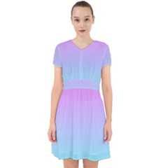 Pink Aqua Dream Adorable In Chiffon Dress