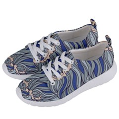 Traditinal Japanese Art Women s Lightweight Sports Shoes by tarastyle