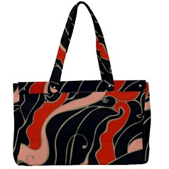 Traditinal Japanese Art Canvas Work Bag by tarastyle