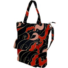 Traditinal Japanese Art Shoulder Tote Bag