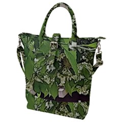 Garden Of The Phoenix  Buckle Top Tote Bag