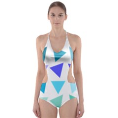 Zappwaits Design Cut Out One Piece Swimsuit