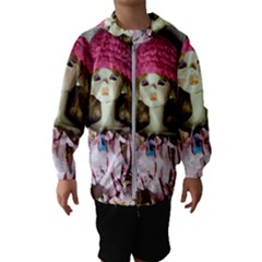 Cute In Pink Hooded Windbreaker (kids)