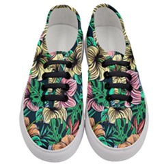 Hibiscus Dream Women s Classic Low Top Sneakers