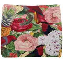 Tropical Bird Floral Seat Cushion