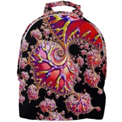 Fractals Colorful Pattern Mini Full Print Backpack