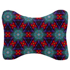 Ornament Colorful Background Color Velour Seat Head Rest Cushion