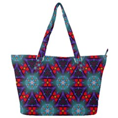 Ornament Colorful Background Color Full Print Shoulder Bag