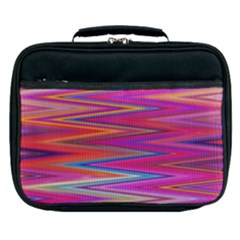Seamless Digital Tile Texture Lunch Bag